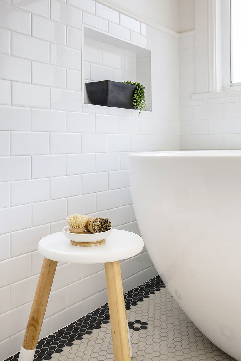 Hampton Bathroom – Helen Baumann Design