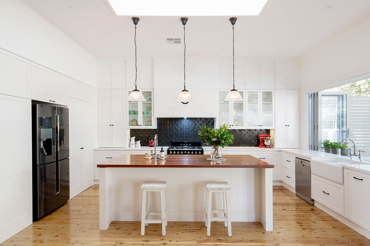 Hamptons Style Kitchen Renovation | Helen Baumann Design